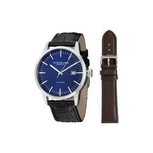 隆恩美国代购正品施图霖(Stuhrling)男士 555A.04 Ascot II 手表