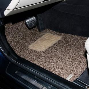 铁臂阿童木 丝圈汽车脚垫环保 专车专用 奥迪/宝马 驼色 厂家订制直发