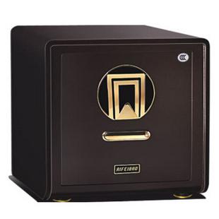 艾斐堡(AIFEIBAO)FDX-A1/D-40ZW天锦指纹系列防盗家用保险箱(金咖啡色)