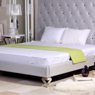 梦洁家纺(MENDALE)纯棉两用床垫保护罩 爆款 白色 180x200cm