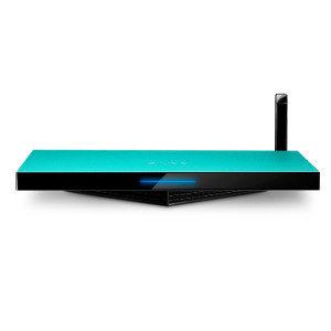 智我(ZIVOO) ZQ100 智盒 家庭智能娱乐中心 安卓4.4 强劲四核(高清网络播放器 网络电视机顶盒) 绿色