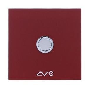 LVC8801A 钢化玻璃面板 如意贴开关1键(天蓝)