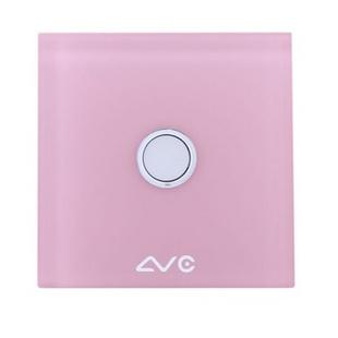 LVC8601B 钢化玻璃面板 智能双模照明开关1键(天蓝)