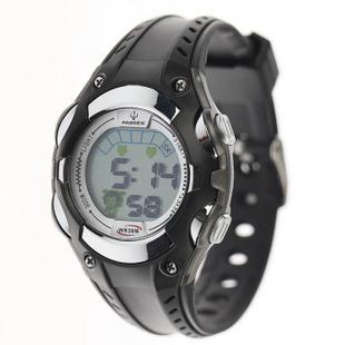 百圣牛(PASNEW)电子表 防水运动手表多功能计时表 PSE-328 黑色