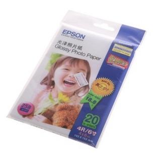 爱普生(Epson)6英寸/20sheets 光泽照片纸C13S042066