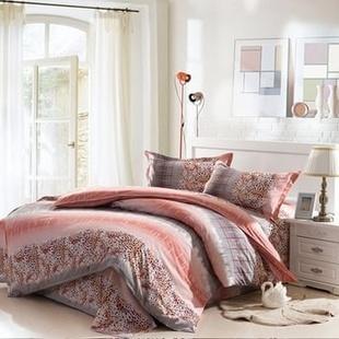 肖肖家居 柔丝棉 时尚印花床单三件套 床上用品(邂逅)