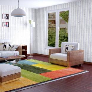 谷典(纯黑色)PVC自粘墙纸 带胶壁纸 防水 百搭款 卧室 客厅 墙贴 背景贴10米装