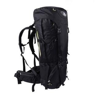 【秋冬新品】VAUDE沃德 中性专业登山背包自带雨罩65+10L 10887(黑色)
