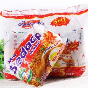 印尼进口喜达牌捞面干拌面 原味91g 大包5小包