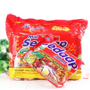 印尼进口喜达牌捞面干拌面 香辣味88g
