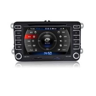 卡仕达领航系列 大众高尔夫专车专用 车载DVD导航CA312-T(套餐1)