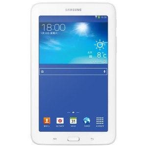 三星(SAMSUNG) GALAXY Tab3 Lite T110 8G 7寸平板电脑 (双核1.2GHz 8GB WIFI 白色)