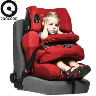 Concord 儿童安全座椅 德国(Pro) 现货红色isofix