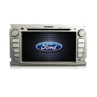 卡仕达领航系列 福特福克斯 专车专用车载DVD导航一体机CA036-T/TA 银色 导航+包安装