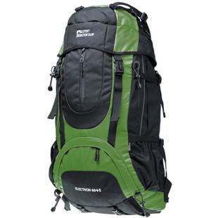 埃尔蒙特 男女登山包户外双肩背包超大容量65L旅行休闲运动专业登山背包 蓝