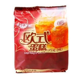 中洋宝 欧式蛋糕(玉米味)192g/袋