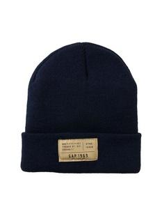 简洁纯色针织帽