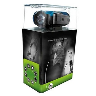 ION 专业户外运动摄像机 the Game 带屏幕及自带WiFi套装版 黑色