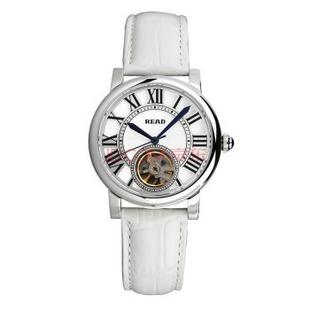 锐力(READ)R8030G手表已转京东自营,请点击下方链接购买! 银框白皮带