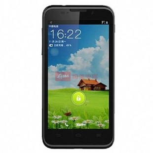 中兴(Zte)N881F 电信3G 安卓智能 4.5寸大屏(黑色)