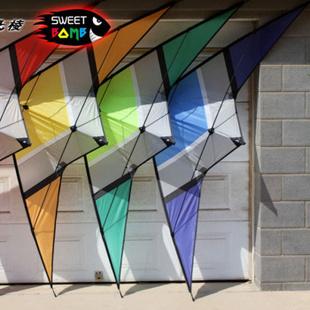 飞棱 糖衣炮弹 双线运动特技风筝 2.5米 不带线 橘色