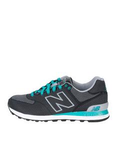 New Balance 新百伦 男士ML574系列黑色跑步鞋(美国直发)