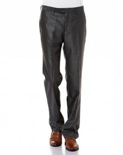 黑灰色时尚斯文长西裤