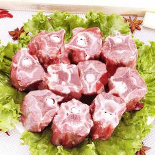 内蒙古精选羊蝎子 鲜肉冷冻 免切多肉羊蝎子 5-6人份真空2斤*3袋 (买二赠一)