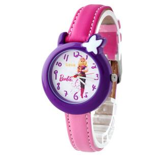 芭比(Barbie)石英表 蓝调威尼斯 果冻表多彩皮带夜光儿童手表BA00042 紫色