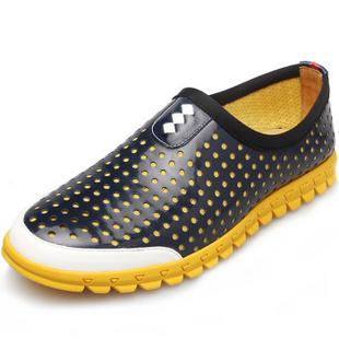 LSKS露丝凯斯 男士透气休闲鞋男鞋 软面舒适日常网鞋子男WF35 蓝色-标准码 41