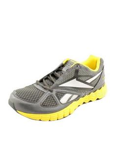 Reebok 锐步 男士白色图案跑步鞋(美国直发)