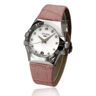 锐力(READ)R6030L手表已转京东自营,请点击下方链接购买! 白面罗马粉皮