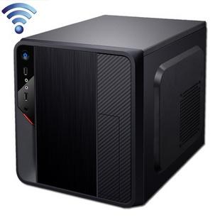 达客 英特尔赛扬双核G1630迷你家用娱乐HTPC台式电脑主机 B75/4G/1T(无光驱)