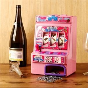 玩具老虎机造型储蓄罐