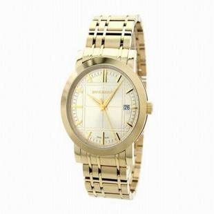 BURBERRY/巴宝莉 英伦经典时尚金色腕表
