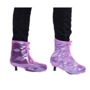 防雨加厚 都市丽人高跟防水雨鞋套 GGXYT
