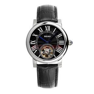 锐力(READ)R8030G手表已转京东自营,请点击下方链接购买! 银框黑皮带