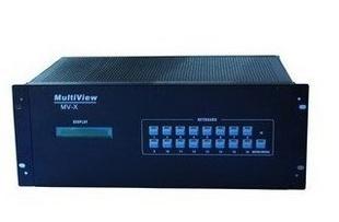 科唯奇 9画面分割器 插卡式 VGA/HDMI输入输出 窗口漫游 随意托动