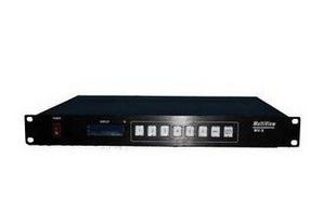 科唯奇 6路 VGA HDMI画面分割器 6个信号在一个屏上同时分割显示