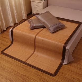 爱妮 Ani 高级磨光凉席 环保竹席 1米8 拼席可折叠席子 150x195cm