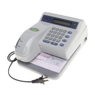 普霖 自动支票打字机PR-03C(数码液晶显示、特种墨防涂改)