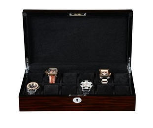 BOYIPAK 艺博 时尚手表收纳盒 首饰盒/化妆盒 高档手表盒 名表收藏盒WC005-12F