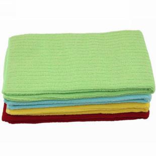 艾美洁 超细纤维长纹洗车巾40*50 4条装