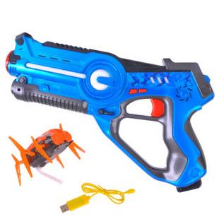 创高镭射儿童玩具枪真人CS游戏激光对战枪声光感应男孩玩具枪套装 单把娱乐版