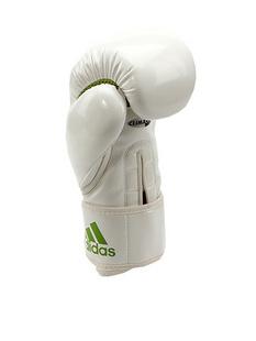 ADIDAS MARTIAL ARTS阿迪达斯搏击白色/红色中性运动拳套ADIBL04/A,120Z