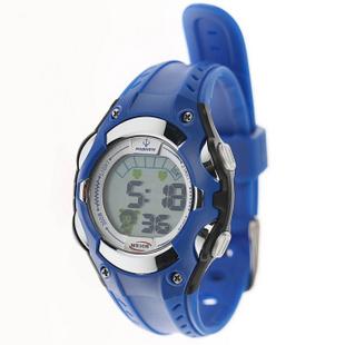 百圣牛(PASNEW)电子表 防水运动手表多功能计时表 PSE-328 蓝色