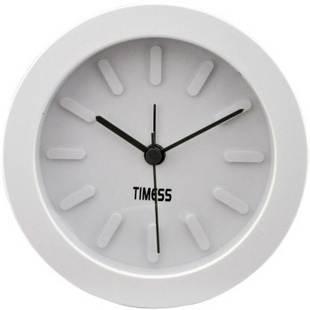 Timess 美式经典雅致闹钟 S-165高雅白