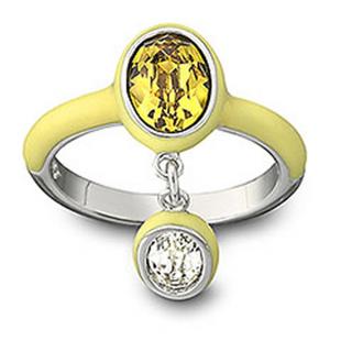 淡黄色戒指1041014