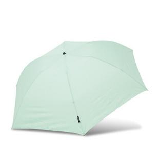 Topumbrella碳素超轻手动三折晴雨伞 灰色