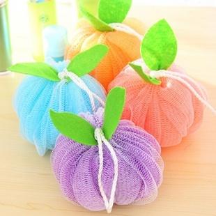 水果造型柔软舒适沐浴花 洗浴球